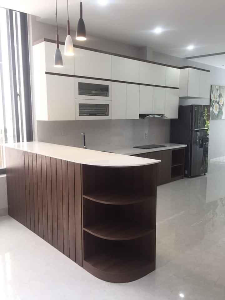 Thi công tủ bếp Nha Trang