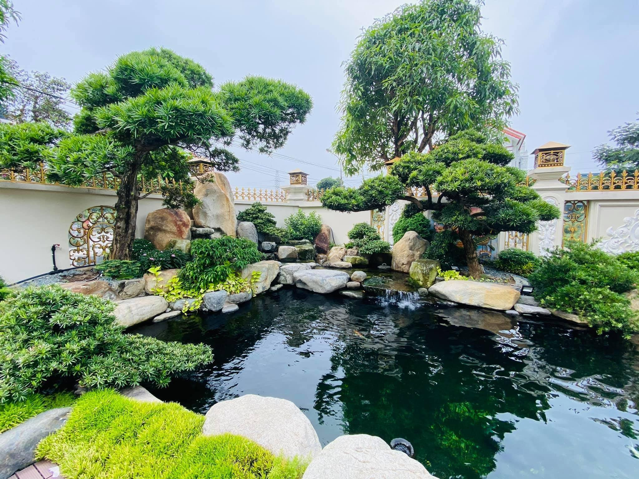 Thi công sân vườn Buôn Ma Thuột